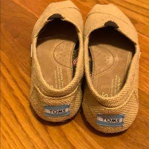 Toms Shoes - Burlap Toms